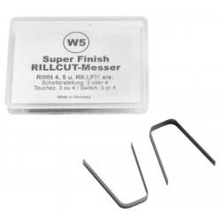 RILLFIT nože W-5 11-15mm